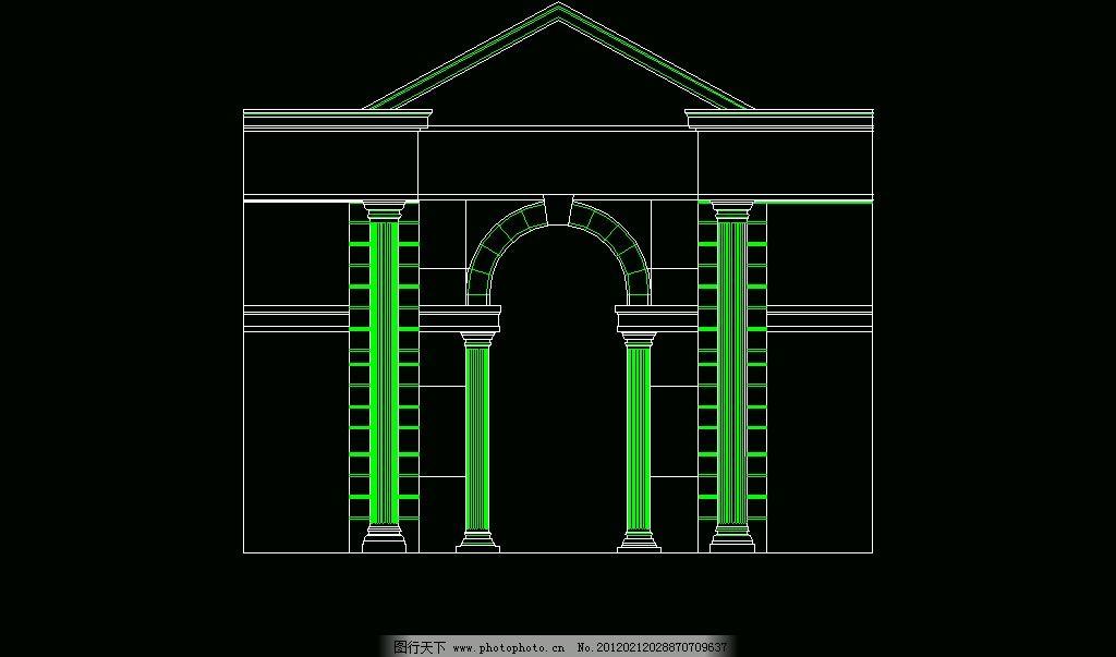 欧式构造 建筑外观 建筑风格