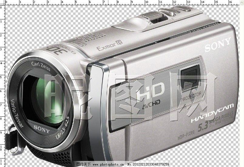 索尼数码摄像机图片