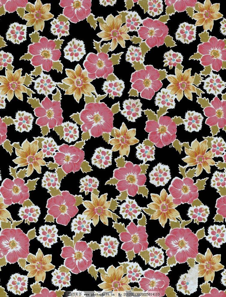 水粉花卉 图案设计