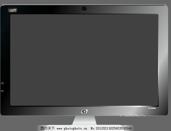 惠普液晶显示器图片