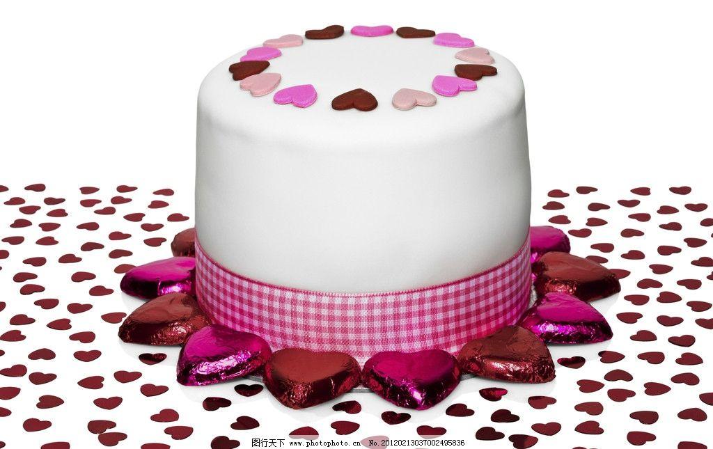 可爱蛋糕图片_生活素材