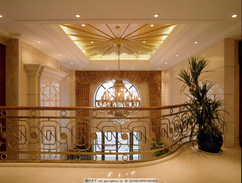 上海华府复式图片,大堂 大厅 别墅 吊灯 水晶灯 吊顶
