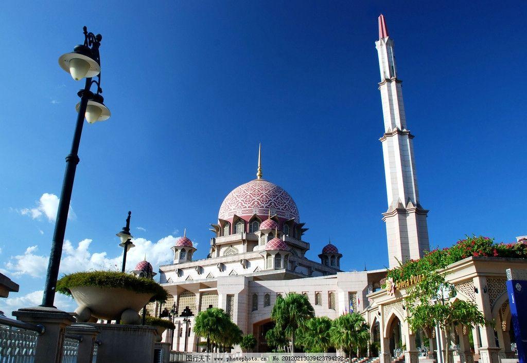 伊斯兰建筑 伊斯兰 穆斯林 风格 建筑 南亚 旅游 景点 房屋 建筑摄影图片