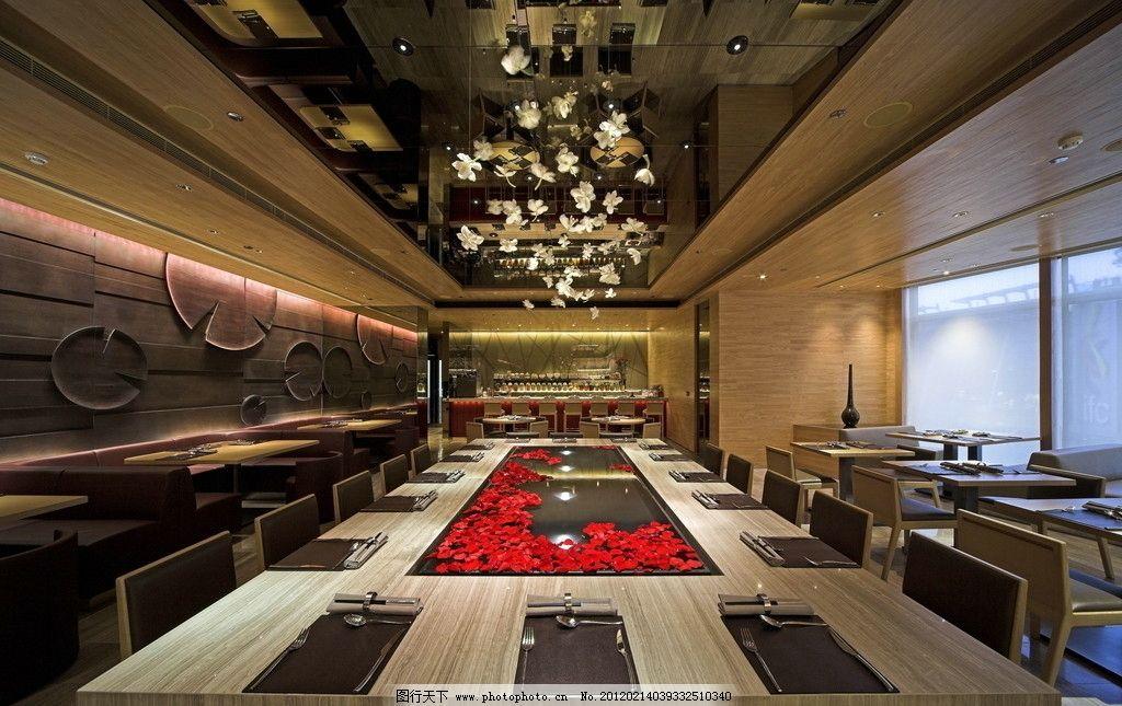 餐廳 商業空間 餐飲 背景 室內攝影 建筑園林