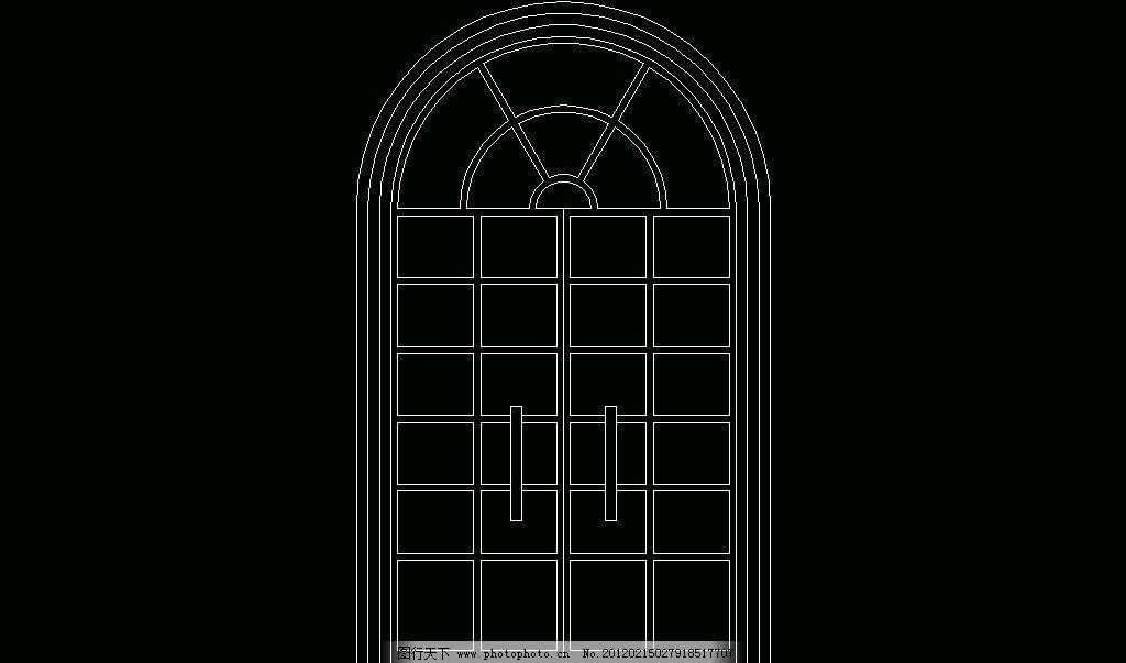 欧式构造 拱门套图片