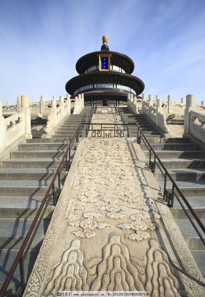 天坛 国内风光 风景 全景 建筑 北京天坛 祈年殿 房屋 宫殿