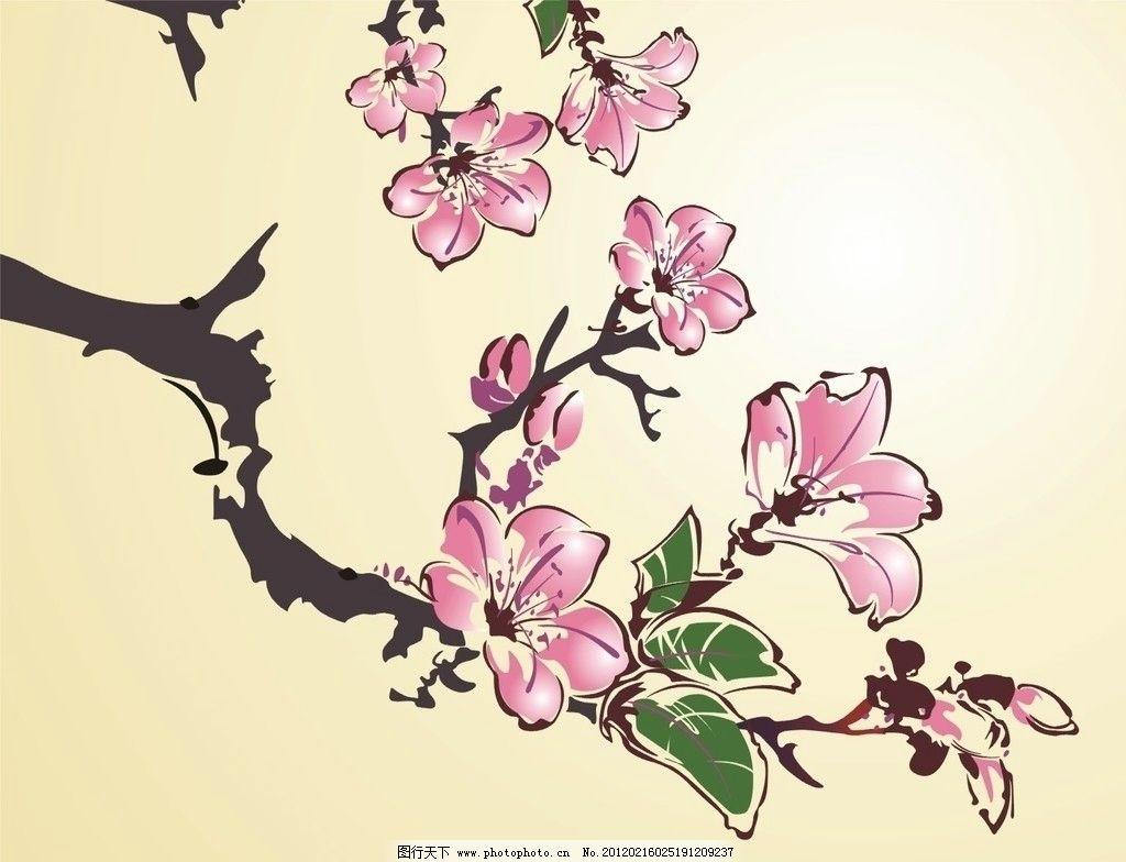 木棉花 花 矢量图 鲜花