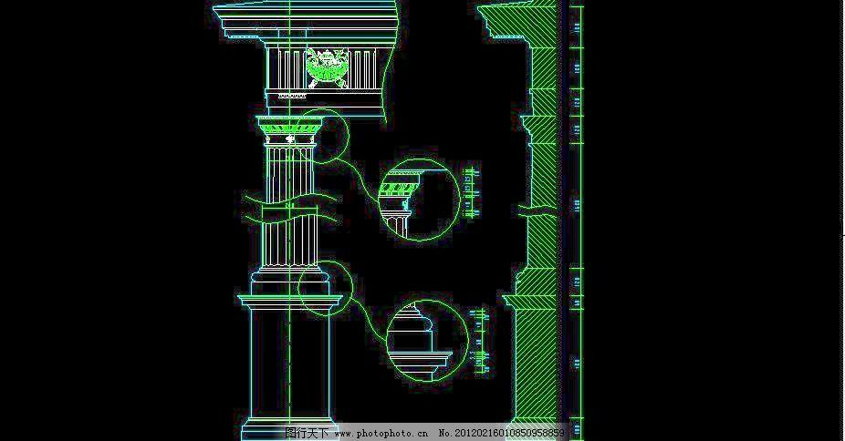 古典 环境设计 建筑风格 欧式 室内设计 西式 源文件 装饰 装修 欧式构造 陶立克柱 西式柱素材下载 西式柱模板下载 西式柱 建筑风格 欧式 古典 西式 室内设计 构件 装修 装饰 欧式构造之cad装饰图库 环境设计 源文件 dwg 家居装饰素材 其它