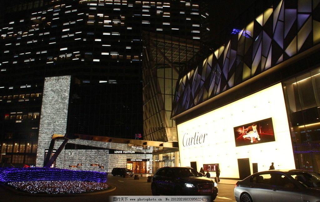 上海街头风景图片