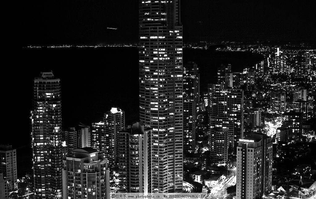 城市夜景 城市 风景 美景 建筑 夜晚 晚上 大楼 城市风景 建筑摄影图片
