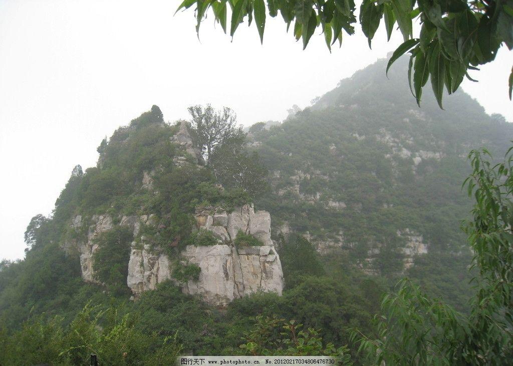 天门峰 山峰 峭壁 青山 神农山风景 摄影