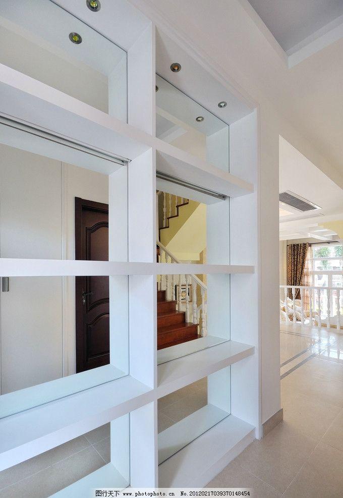爱丁堡 室内实景图 欧式 玄关 镜子 入户造型 吊顶 中央空调
