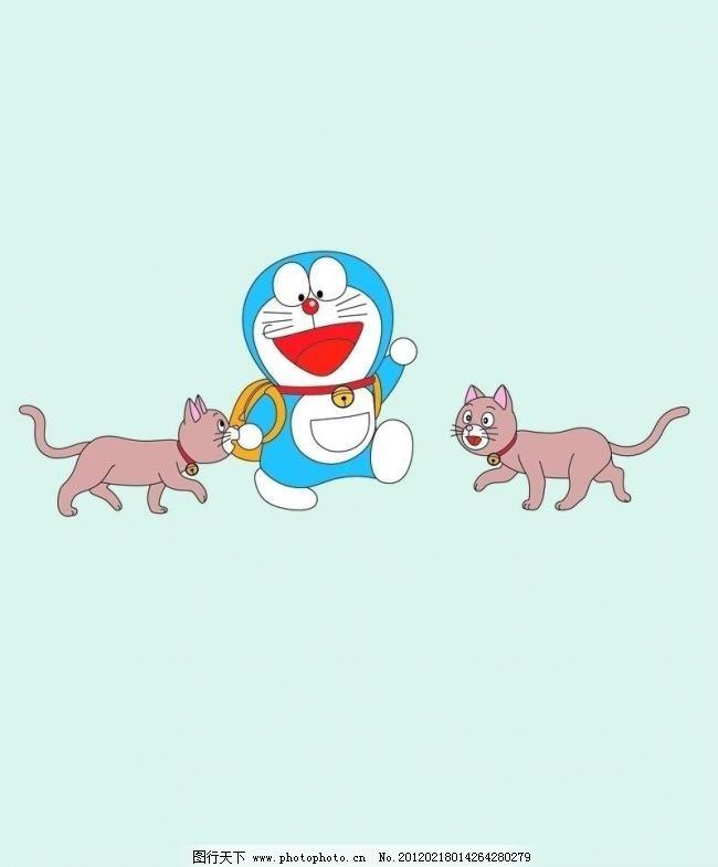 机器猫 边框 彩钻 潮流 底纹 底纹边框 儿童 服装 服装素材