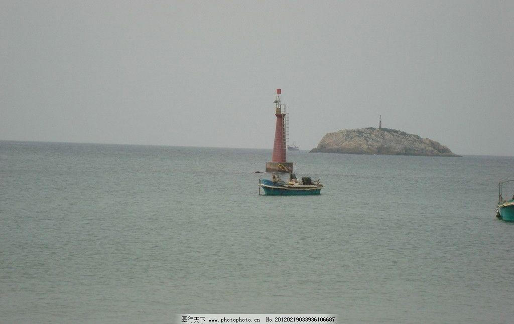 漂浮 小船 大海 小岛 国内旅游 旅游摄影 摄影 72dpi jpg
