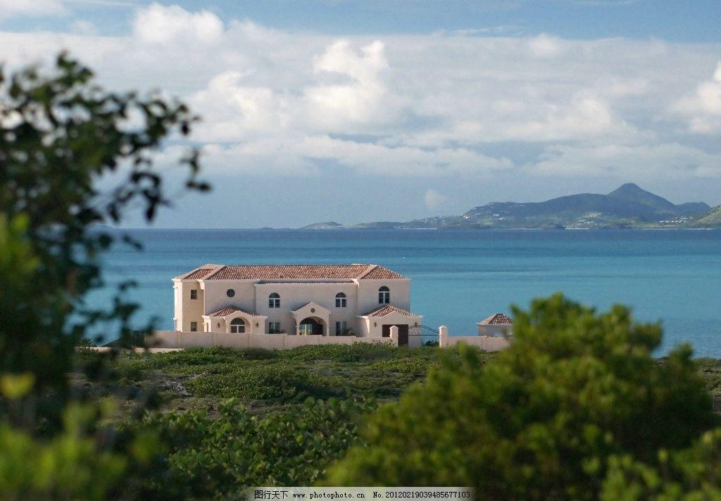 国外顶级豪华度假别墅酒店装修设计 海边 独立 幽静 远离喧嚣 国外