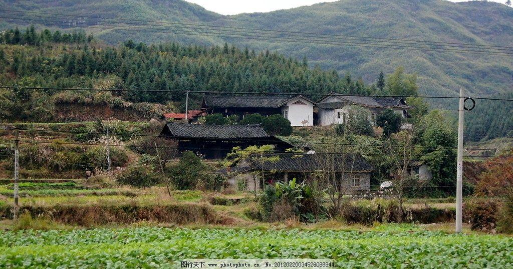 湘西民居 湘西 湖南 民居 田园 山区 农村 田园风光 自然景观 摄影