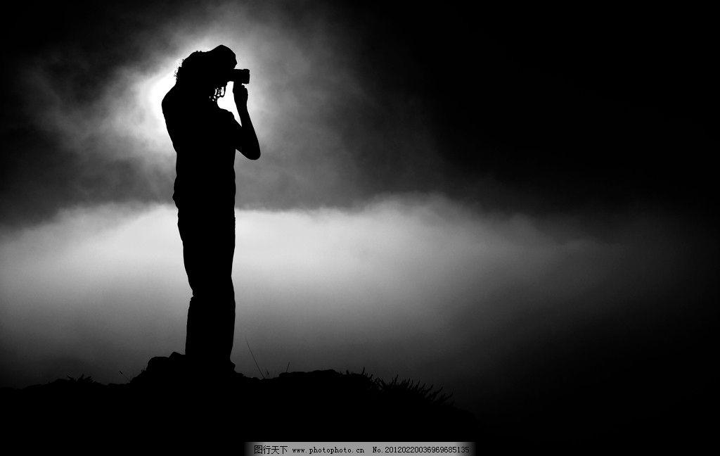 人物图片 黄昏人物摄影 黄昏 人物剪影 风景 摄影 300dpi jpg 其他