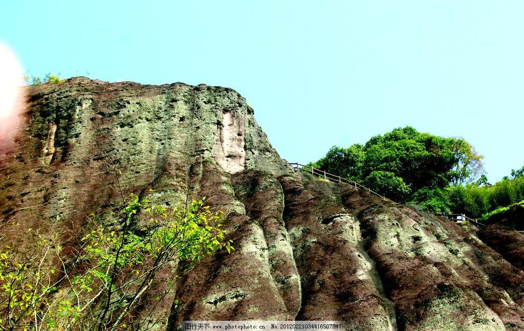 石梯 栏杆(非高清)图片_山水风景_自然景观_图行天下