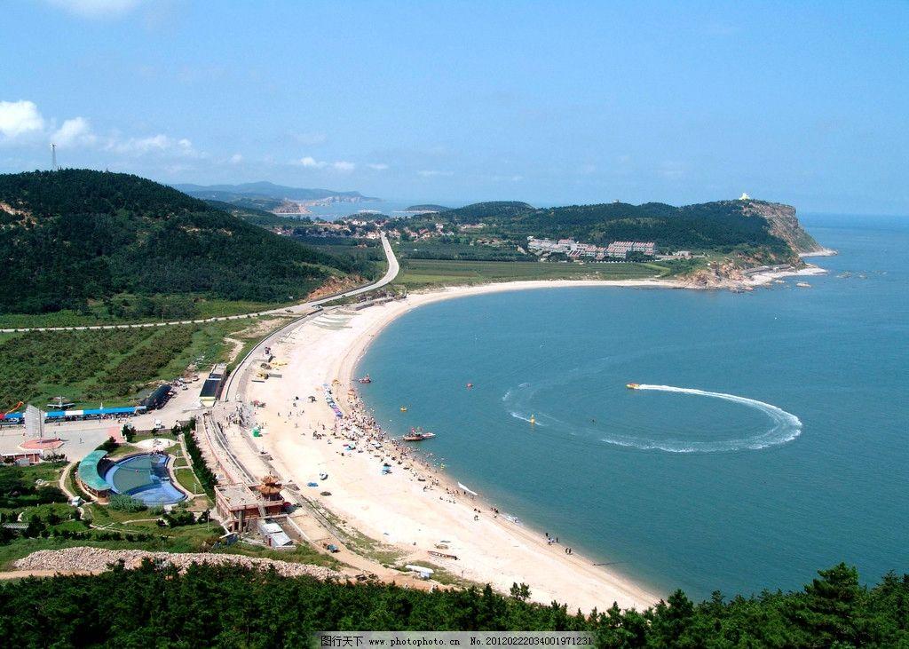 海滩 海上风景 海边 沙滩 天空 白风光 自然风景 自然景观 摄影 72dpi