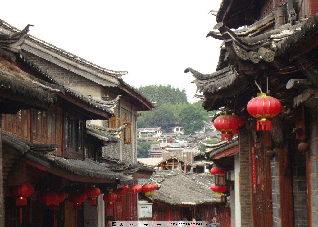 丽江古镇 (非高清) 云南 建筑 四方街 古城 风景 建筑摄影