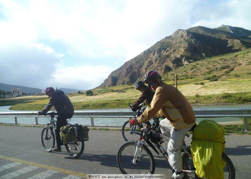 骑行川藏 单车 山地车 318国道 高原 西藏风光 回头 摄影 队友 其他
