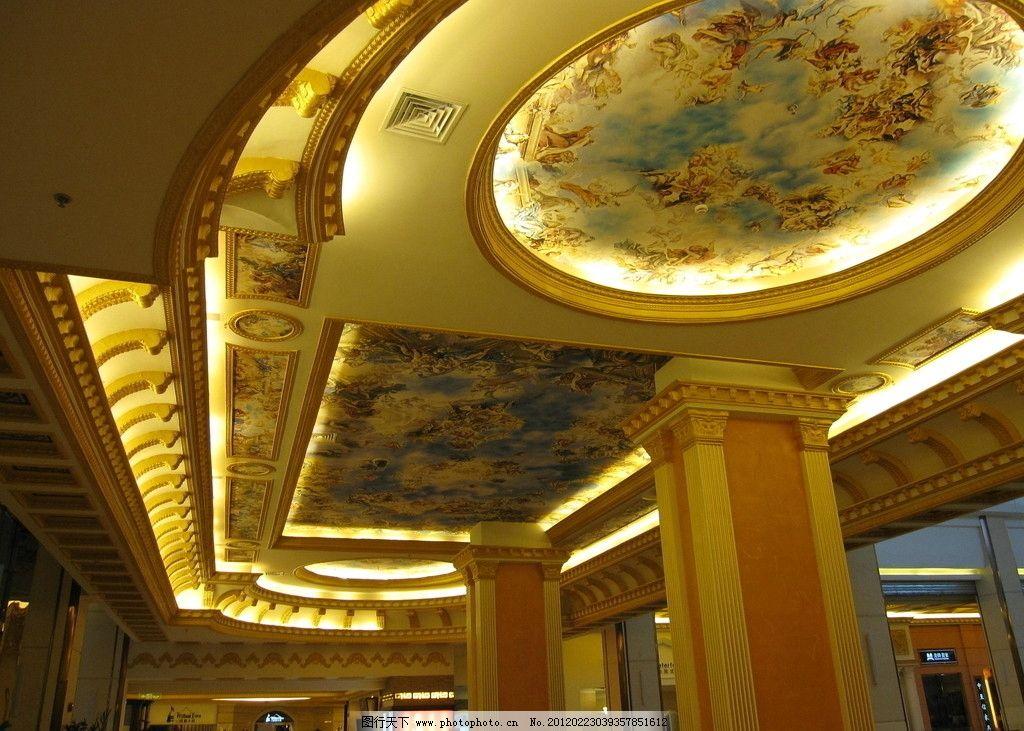欧式 手绘 卢浮宫