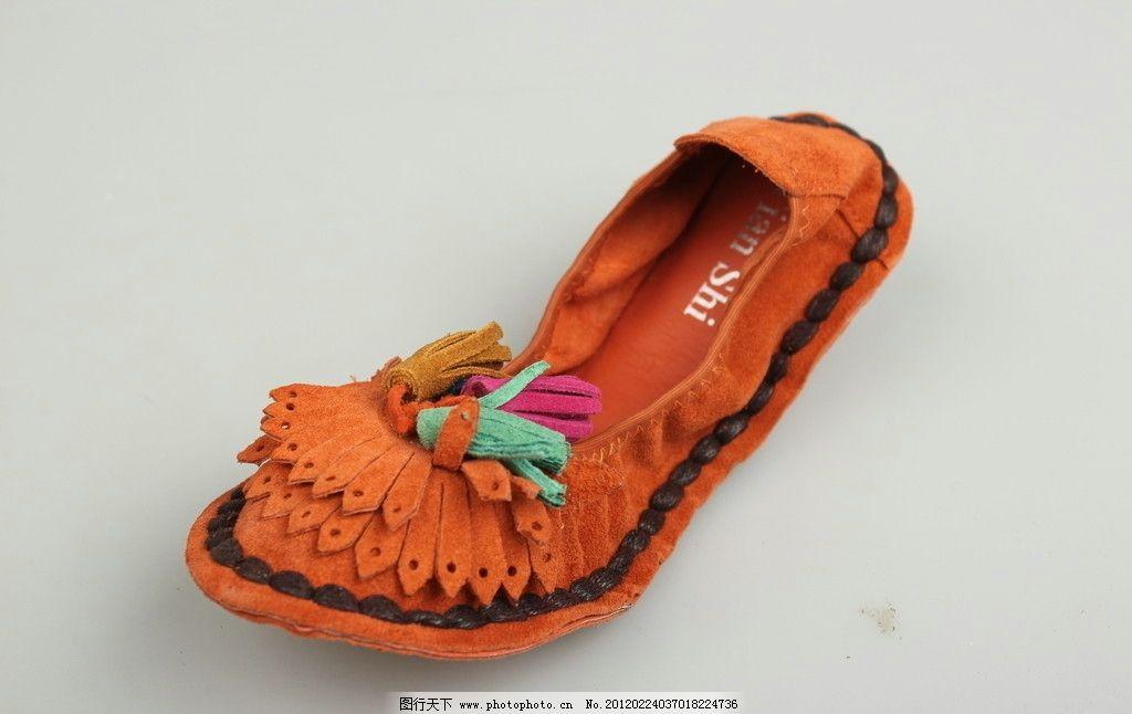 浅口单鞋 鞋子 女鞋 时尚 平底 娃娃鞋 全真皮 手工花朵 浅口圆头