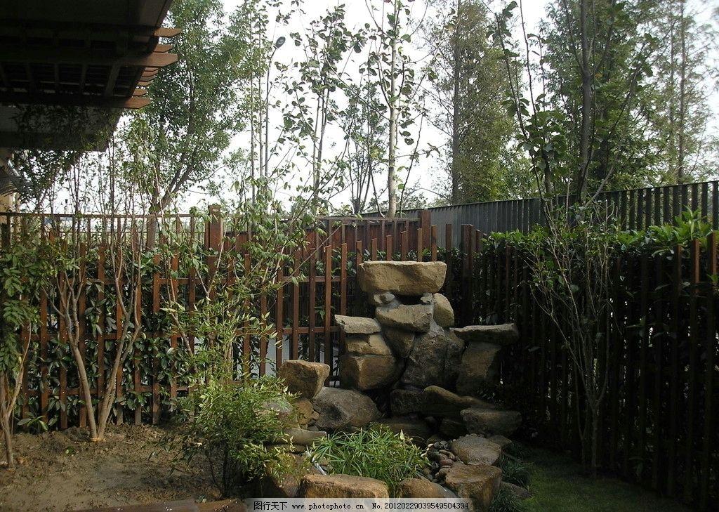 庭院园林 景观 绿树 园林 假山 水景 别墅 施工 园林建筑 建筑园林
