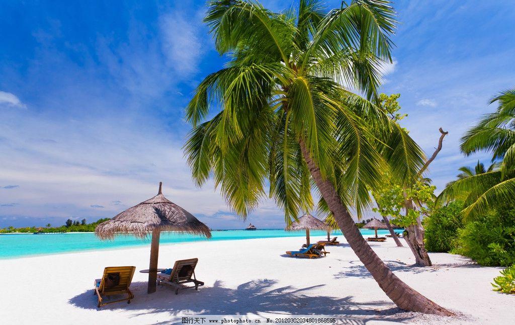 热带海滩图片_自然风景_自然景观_图行天下图库