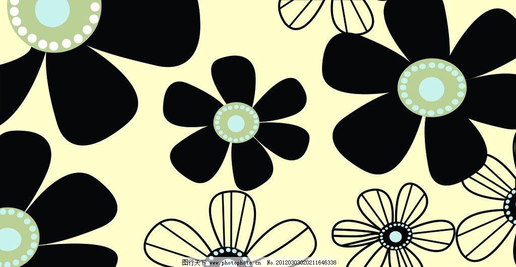 花朵 雕刻花 底纹 花纹边框 移门花朵 底纹背景 底纹边框 矢量 cdr