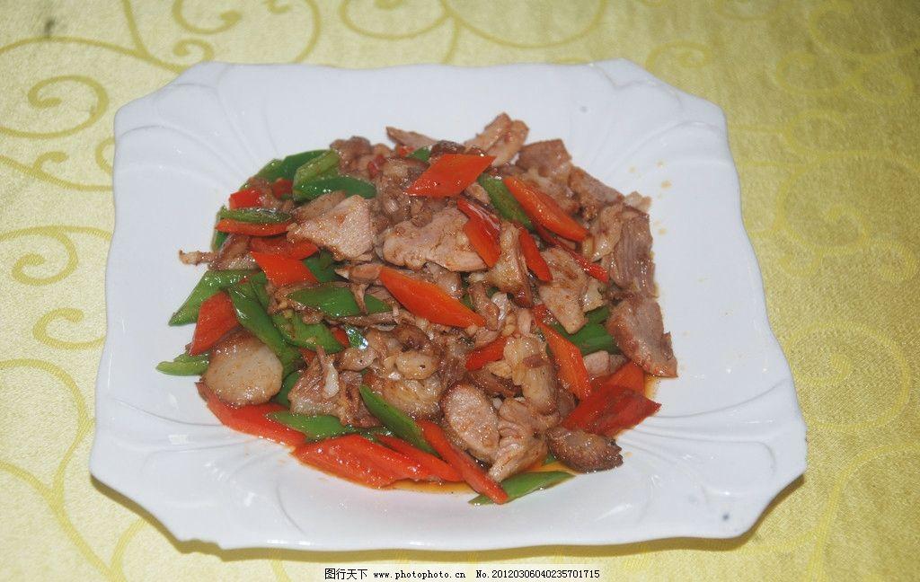 小炒肘花 热菜 传统美食 餐饮美食 摄影 300dpi jpg