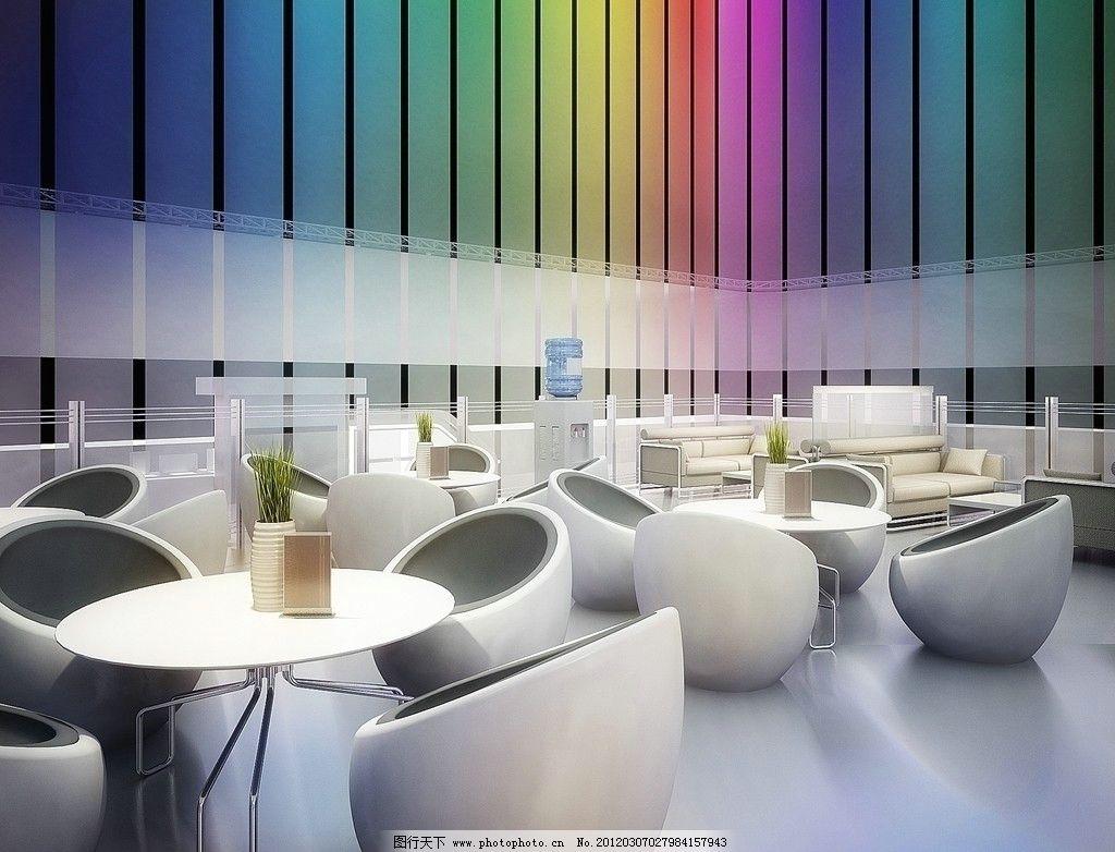 设计图库 环境设计 室内设计  会客厅 时尚 会客 客厅 大厅 茶厅 椅子
