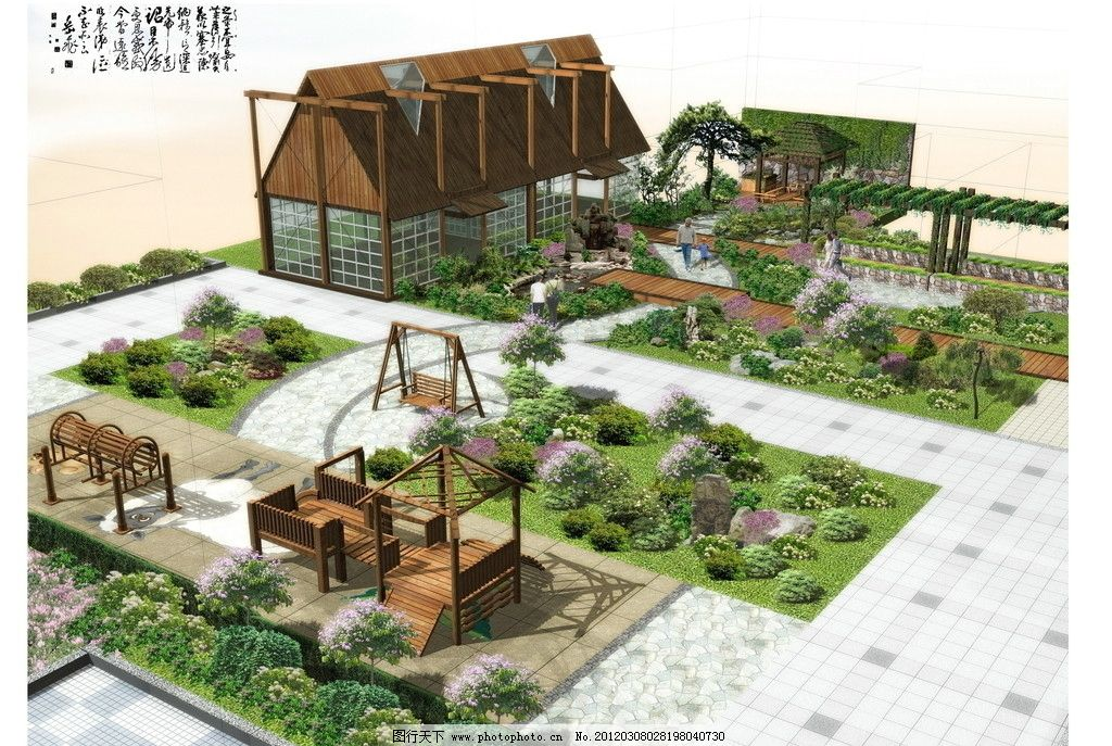 屋顶花园图片