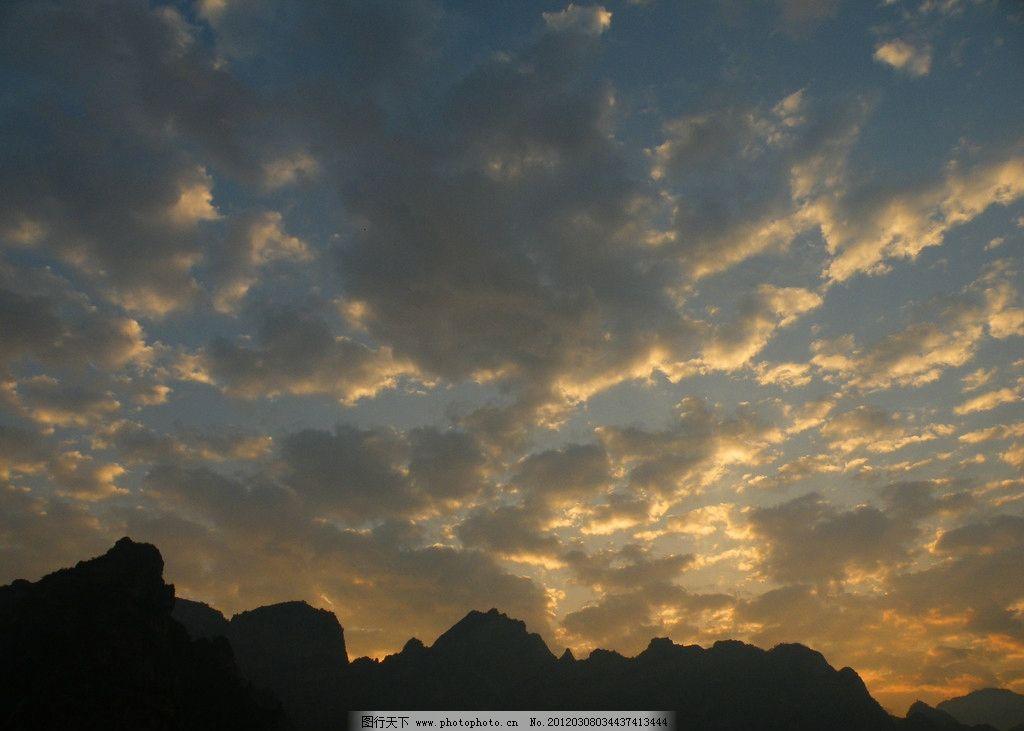 野三坡 河北保定涞水县 早晨 朝云 山水风景 自然景观 摄影 72dpi jp