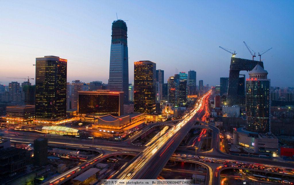 北京城市风光 现代建筑 繁荣现代 城市商圈 建筑园林城市风光 建筑