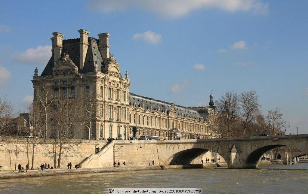 欧洲风景 欧洲 风景 街景 大桥 建筑 天空 建筑景观 自然景观 摄影 72图片