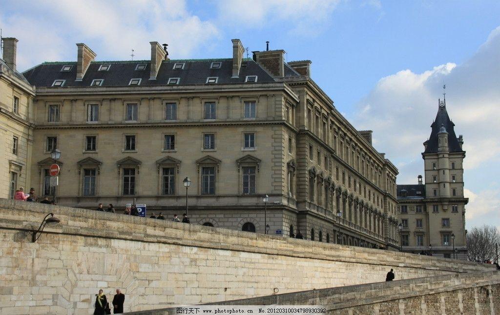 欧洲风景 欧洲 风景 街景 建筑 天空 砖墙 建筑景观 自然景观 摄影 72