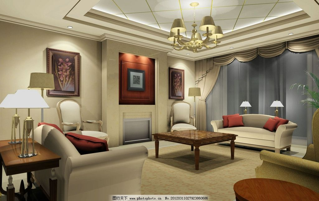 客厅装修 创意室内设计 创意设计 家居设计 饭厅 桌椅 装饰装潢