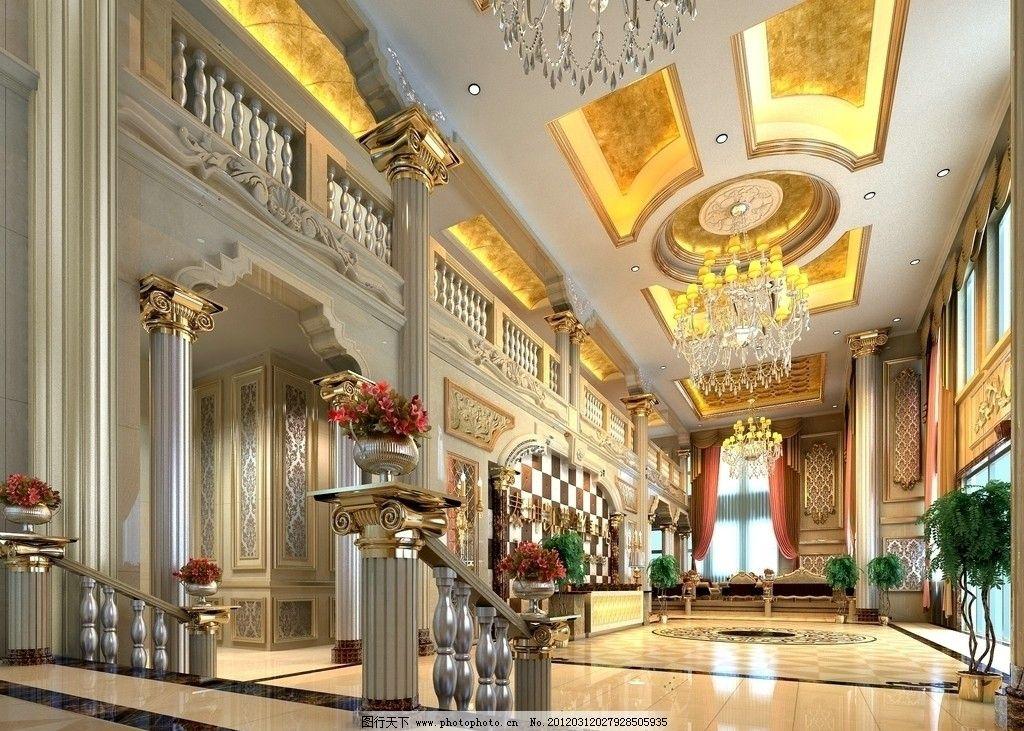 欧式售楼中心效果图 欧式风格 简欧风格 售楼处        室内设计 环境