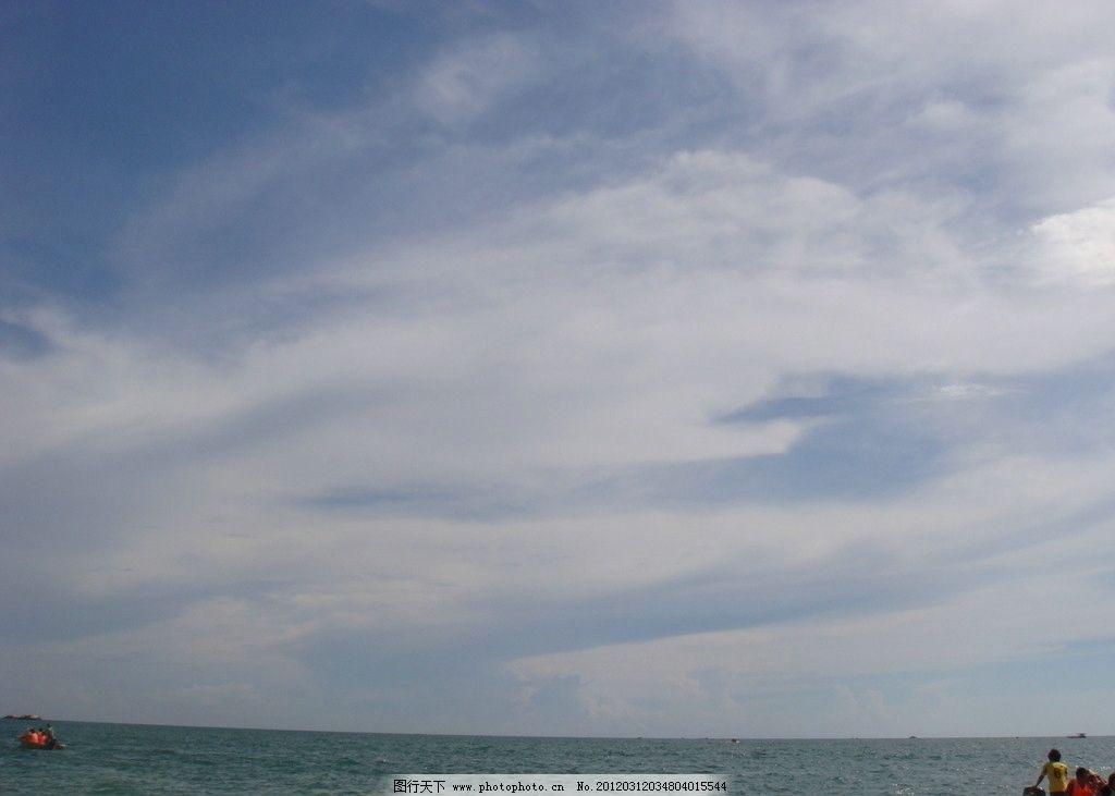 美丽的天空 蓝天 天空 白云 自然风景 自然景观 摄影 72dpi jpg