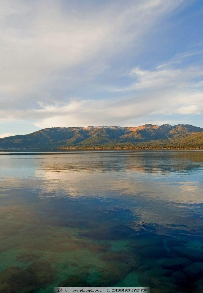 湖泊风光图片_自然风景_自然景观_图行天下图库