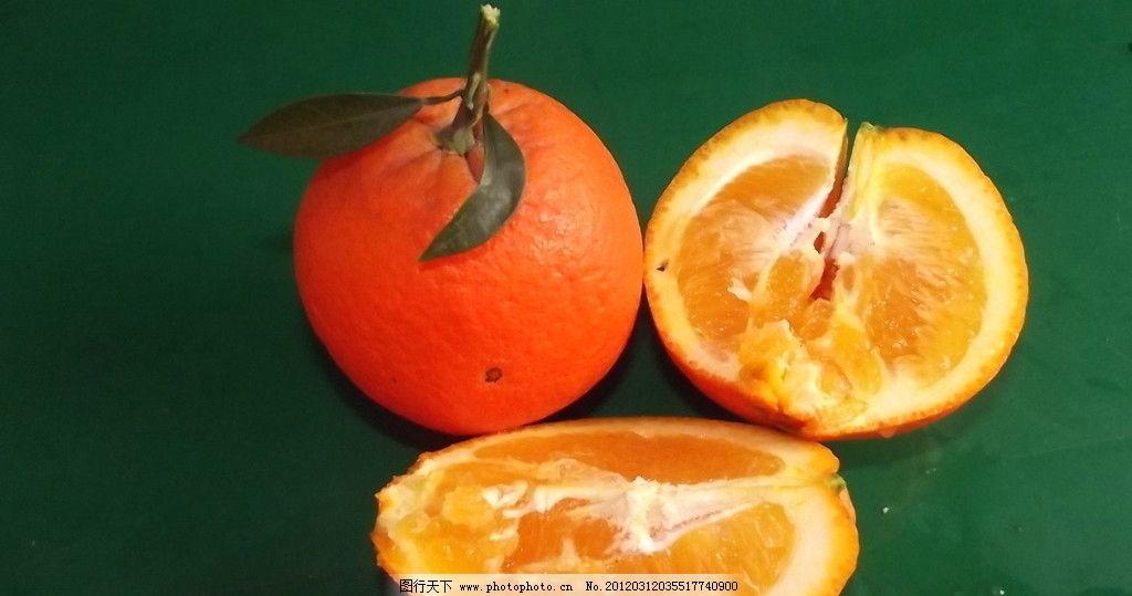 香橙 橙子 水果图片