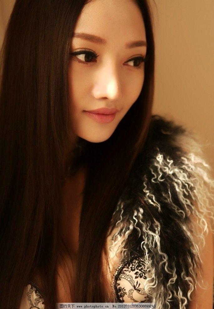 林娜冰 美空 平面模特 内衣 家纺 写真 漂亮 性感 火辣身材