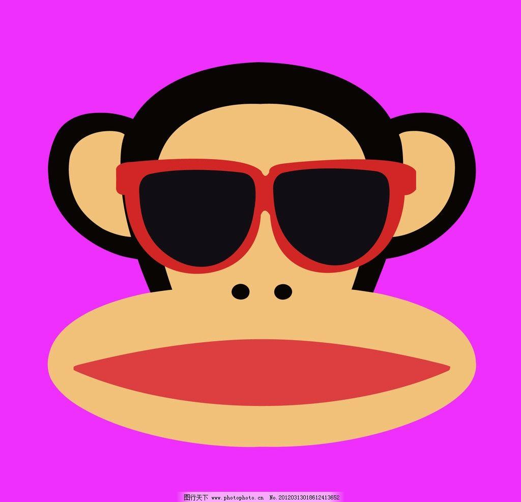 小猴子 大嘴巴猴 表情 动漫动画