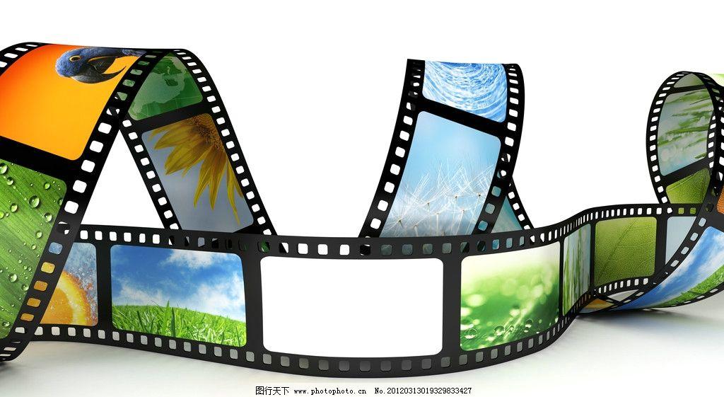 电影胶片 胶卷 胶片 菲林 film 动感 电影 螺旋 色彩缤纷 胶卷胶片