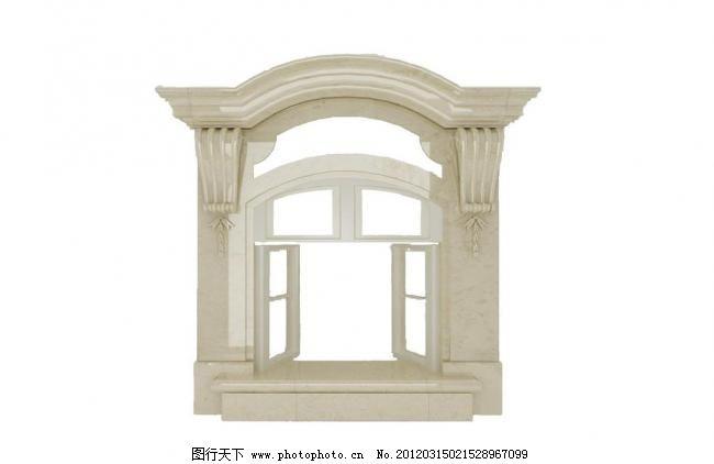 欧式窗户模型图片