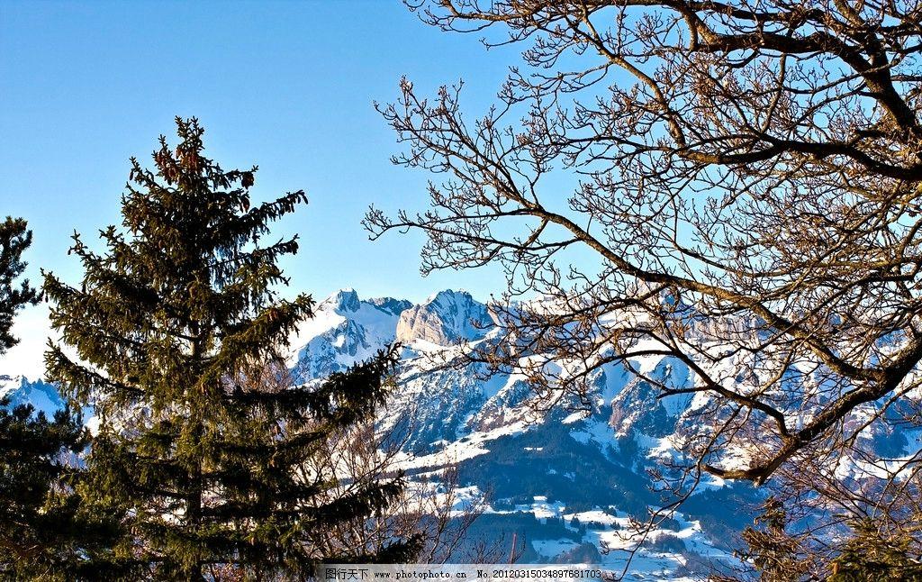 雅拉雪山高原景色