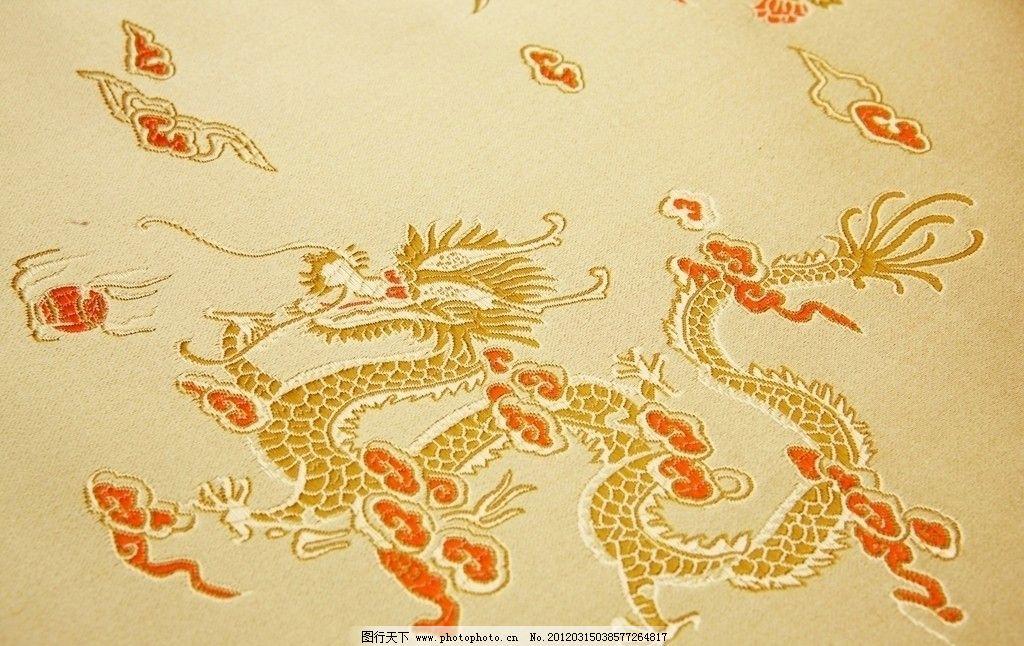 中国传统文化图案底纹刺绣图片