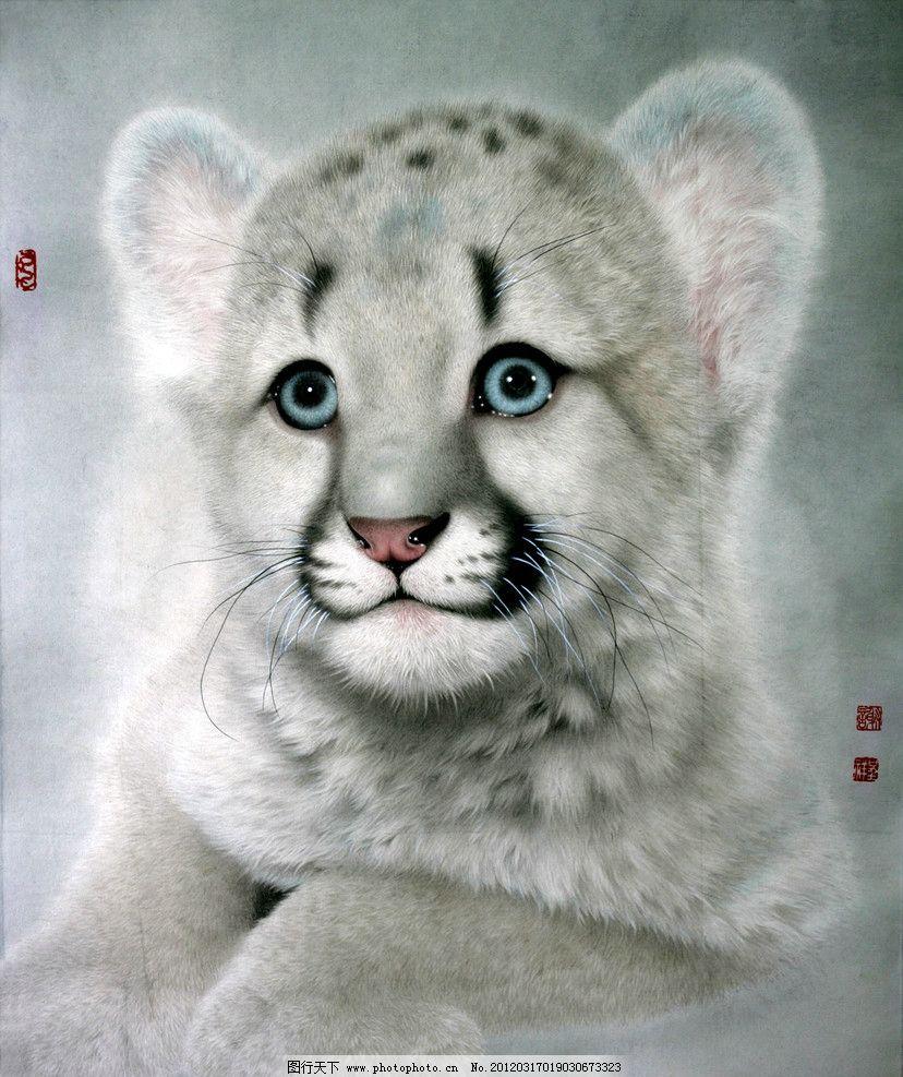 可爱幼狮图片