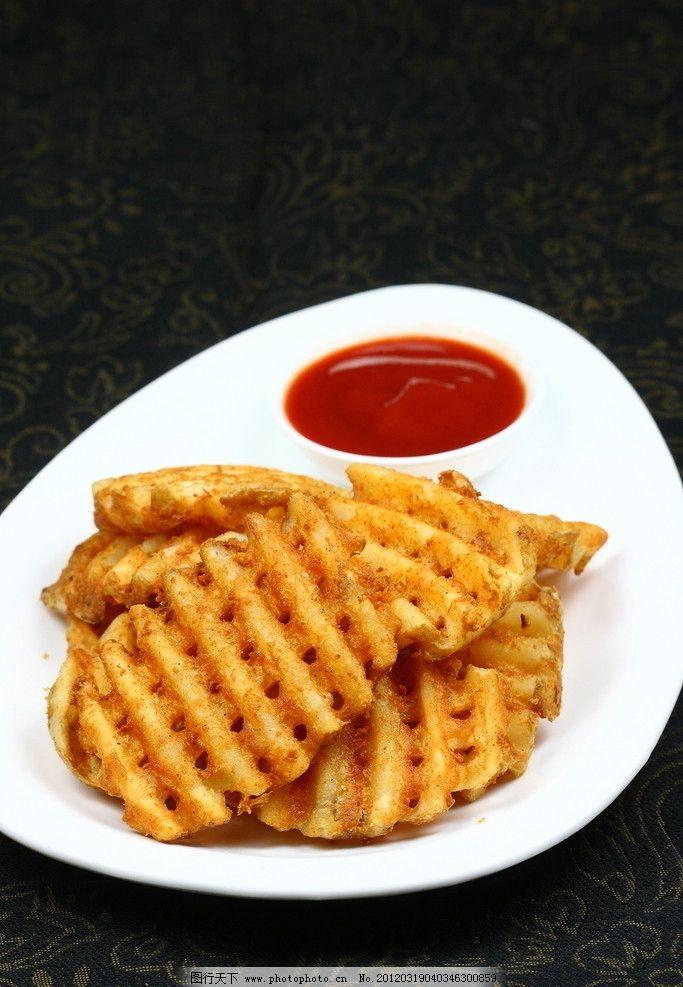 美式薯格图片